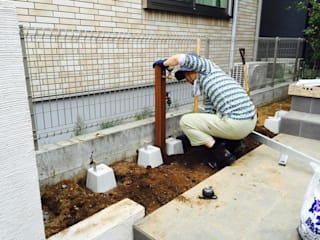 Jardin de style  par Shikinowa Design, Moderne