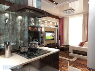 Студия интерьера Дениса Серова Eclectic style kitchen