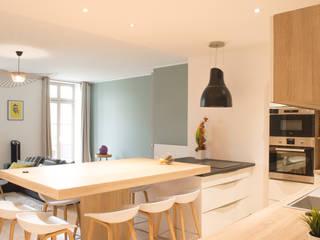 Scandinavian style kitchen by COLOMBE MARCIANO Scandinavian
