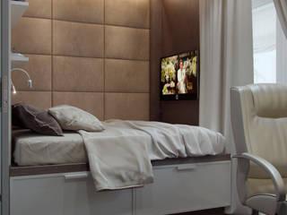 Студия интерьера Дениса Серова Modern style bedroom