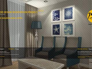 Baia Hotel Akdeniz Yatak Odası Pıcco Desıgn & Archıtecture Akdeniz