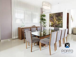 """""""PROYECTO LDZ26"""" Comedores eclécticos de PORTO Arquitectura + Diseño de Interiores Ecléctico"""