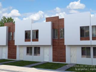Houses by Perspectiva Arquitectos México, Minimalist