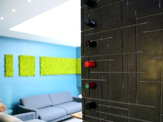 Un appartamento ricco di dettagli Ingresso, Corridoio & Scale in stile moderno di Pierfrancesco Arnone Studio Moderno
