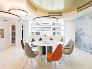 Modern dining room by Kreoo Modern