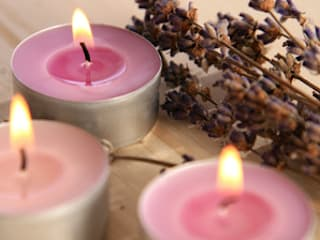 Scented Tea Lights:   by The London Candle Company
