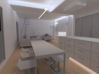 INTERIOR CIVILE ABITAZIONE: Cucina in stile  di studio musumeci architetti