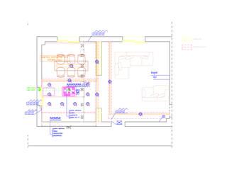 INTERIOR CIVILE ABITAZIONE:  in stile  di studio musumeci architetti