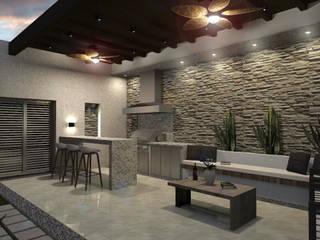 Residencia Corceles Casas modernas de MOBAH Arquitectura Moderno