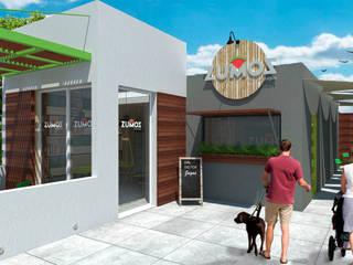 Zumos Bar Gastronomía de estilo moderno de MOBAH Arquitectura Moderno