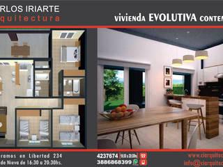 Vivienda en San Salvador de Jujuy: Cocinas de estilo  por Carlos Iriarte arquitectura