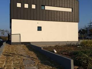 도련동 단독주택 모던스타일 주택 by 건축사사무소 사이 모던