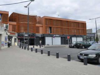 Rénovation globale du centre commercial Marie-Stuart Centres commerciaux modernes par Léandre Porte Architecture Moderne