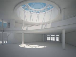 Centre Culturel Orléans: Lieux d'événements de style  par Léandre Porte Architecture