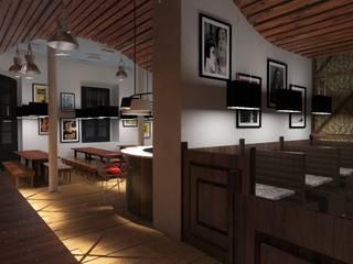 """Projecto restaurante """" Tasca Portuguêsa"""":  {:asian=>""""asiático"""", :classic=>""""clássico"""", :colonial=>""""colonial"""", :country=>""""campestre"""", :eclectic=>""""eclético"""", :industrial=>""""industrial"""", :mediterranean=>""""Mediterrâneo"""", :minimalist=>""""minimalista"""", :modern=>""""moderno"""", :rustic=>""""rústico"""", :scandinavian=>""""escandinavo"""", :tropical=>""""tropical""""} por dudesign,"""