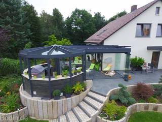 Lounge:  Terrasse von Bodin Pflanzliche Raumgestaltung GmbH