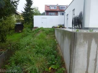 Garten vorher:   von Bodin Pflanzliche Raumgestaltung GmbH