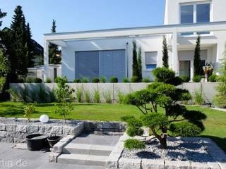 Gartengestaltung im Bauhausstil:  Garten von Bodin Pflanzliche Raumgestaltung GmbH