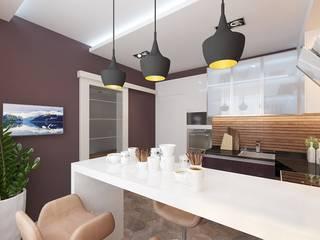 Студия интерьера Дениса Серова Modern kitchen