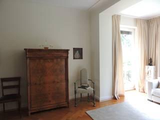 Altbauvilla in Frankfurt Prager Interiors Klassische Wohnzimmer