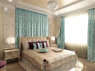 Студия интерьера Дениса Серова Classic style bedroom
