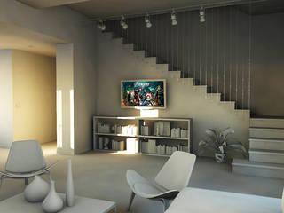 Living room by bram architetti, Minimalist