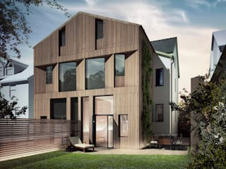 Passivhaus Retrofit Manchester Modern houses by guy taylor associates Modern