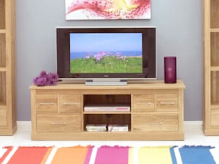 TV & Entertainment in the Living Room: modern  by Big Blu Furniture, Modern