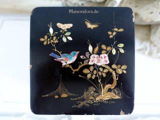 Maisondora Vintage Living Vestidores y closetsAlmacenamiento Madera Negro