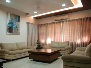 Residence Modern living room by AM Associates Modern