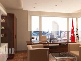 elif alemdar interior – Makam Odası:  tarz Çalışma Odası