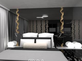 Koncepcja Hotel Szczyrk: styl , w kategorii Hotele zaprojektowany przez BN STUDIO Barbara Wójcik,