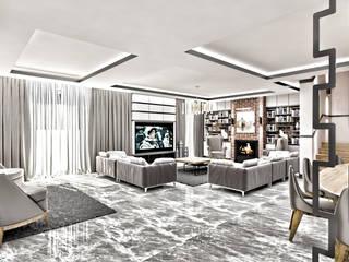 RADIO TPU – Sin Villa: modern tarz Oturma Odası