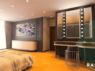 RADIO TPU – Goker Residence: modern tarz Yatak Odası