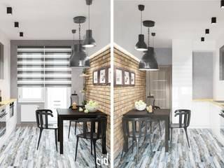 Comedores de estilo ecléctico de Center of interior design Ecléctico