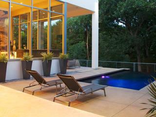 Modern Landscape Design:  Pool by Matthew Murrey Design