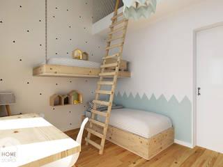 Projekty,  Pokój dziecięcy zaprojektowane przez Homestories