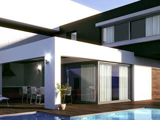 residencial Casas minimalistas de Oriente Arquitectos Minimalista