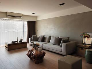 Salon de style  par AIRS 艾兒斯國際室內裝修有限公司, Moderne