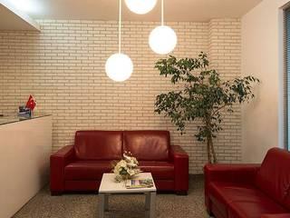 Doğancı Dış Ticaret Ltd. Şti. Dinding & Lantai Modern Batu Bata White
