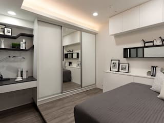 Modern Kid's Room by Green Leaf Interior青葉室內設計 Modern