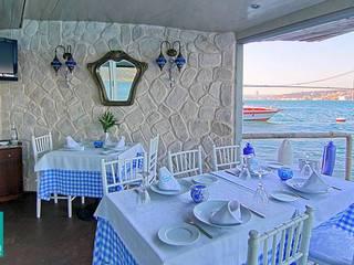 Doğa Balık Restaurant / Gül Sultan Yalısı Kırsal Duvar & Zemin Doğancı Dış Ticaret Ltd. Şti. Kırsal/Country Taş