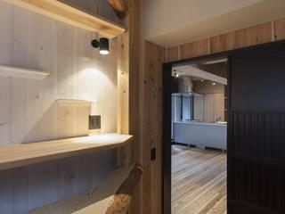 なかそとなかの家の子供部屋(和モダンリノベーション): 森村厚建築設計事務所が手掛けた子供部屋です。