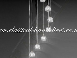 Tierney Stairwell Chandeliers Classical Chandeliers 玄關、走廊與階梯照明