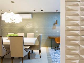 Comedores de estilo moderno de Apê 102 Arquitetura Moderno