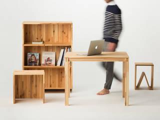 岐阜県の山で育った木で、家具を作りました。: SCHOLE(スコレー)が手掛けたです。,