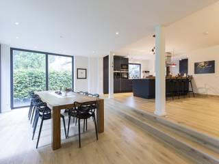 Столовая комната в стиле модерн от Architekturbüro Prell und Partner mbB Architekten und Stadtplaner Модерн