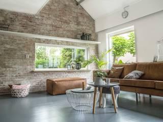 Industriële bakstenen muur in huis!:   door StonePress