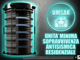 STUDIO DE ROSA : PROGETTO U.M.S.A.R. © - Unità Minima di Sopravvivenza Antisismica Residenziale di Studio De Rosa Moderno