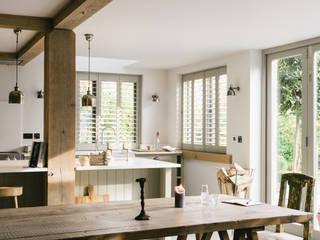 The Henley on Thames Kitchen by deVOL deVOL Kitchens Rustic style kitchen Grey